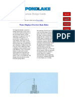 Fountain Design Guide