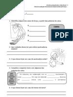 Ficha de avaliação trimestral de Estudo do Meio (4º Ano)
