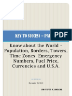 The Key to Success - Part - 6 - World Details and Knowledge about United States (Part II)
