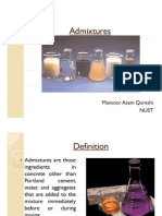 Admixtures