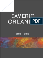 Monografie opere Saverio Orlando dal 2002 al 2012