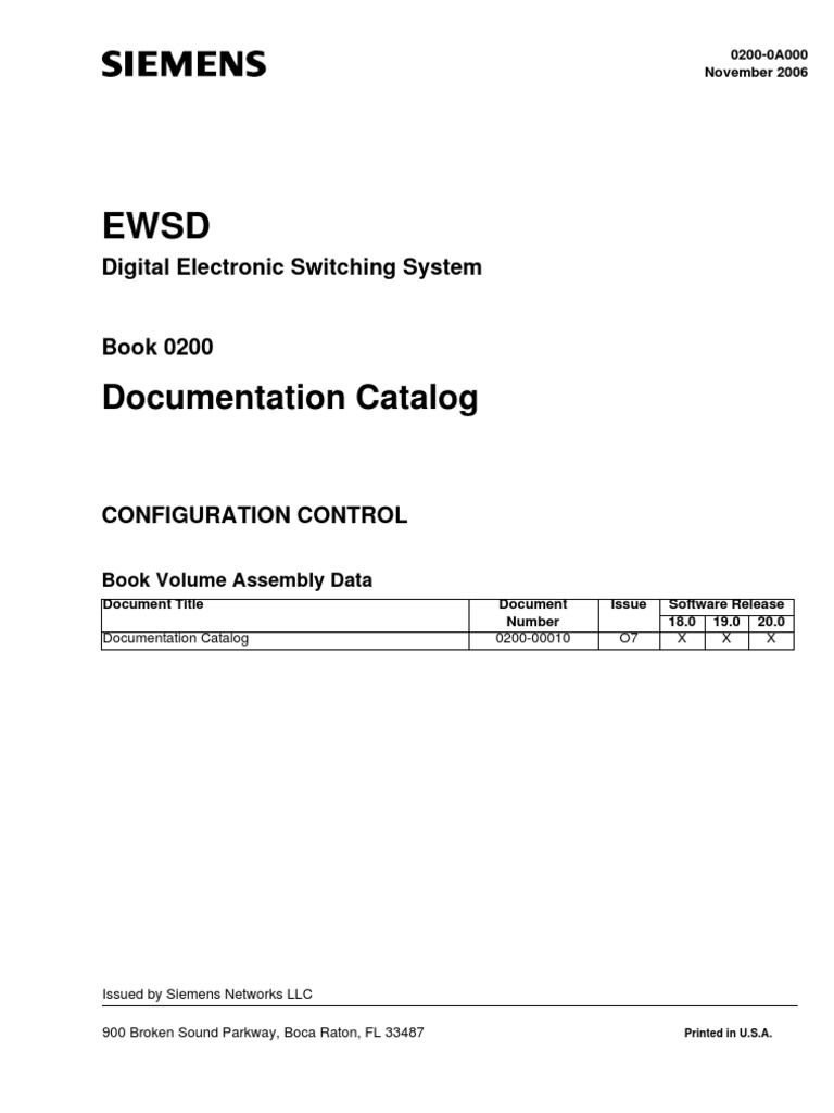 Siemens ewsd specification technical standard telephone exchange ccuart Images