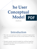 The User Conceptual Model