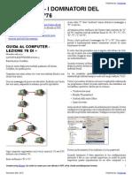 Guida al Computer - Lezione 76 - La Posta Eletronica Parte 3