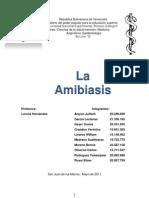 Amibiasis Informe