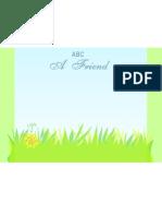 ABC of Friendship