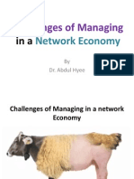 1-Challenges of Managing in a Network Economy