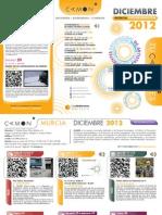 CAMON-Murcia. Programación. Diciembre 2012. Obra Social. Caja Mediterráneo