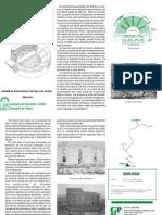 Acinipo (Ronda, Málaga) folleto del yacimiento romano