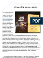 Inliniedreapta.net-Astronomie Pentru Poeti Si Capcane Pentru Postmoderni Ioan T Morar