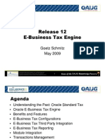Release 12 e Business Tax Engine o Aug