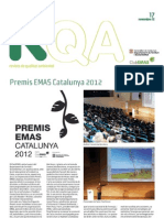 RQA17 Premis EMAS Catalunya 2012