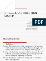 Physical Distribution System Ppt