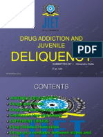 Drug Addiction and Juvenile Deliquency-reuben