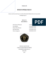 makalah hukum perjanjian