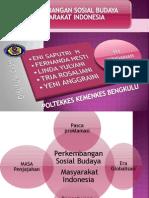 perkembangan sosial budaya masyarakat indonesia