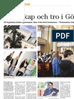 Vetenskap och tro i Göteborg