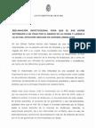 Declaración institucional para exigir la llegada del AVE a la estación de Andaluces