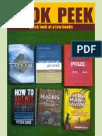 Book Peek - November 29, 2012 - Contents