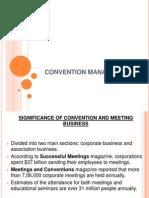 Convention Management
