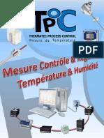 Catalogue Thermatec Process Control 2012
