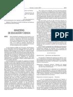 Real Decreto 276 2007 Oposiciones