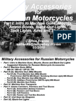 Military Accessories for Russian Motorcycles