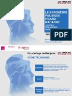 Baromètre politique - décembre 2012