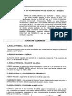 Proposta Acordo Coletivo 2013 Deso