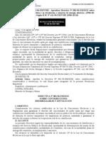 Directiva n001 96 Em Dge