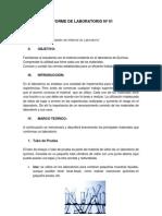Informe 1 Materiales Del Laboratorio