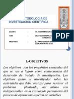 Objetivos Generales y Objetivos Especificos21