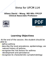 Asthma for UPCM LU4 Jan 09 Hand Out