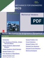 Ch19Mechanical Vibrations