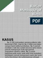 Barier Methode of Birth Control