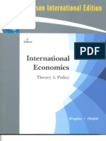International Economics - Theory&Policy 8th (11 chapters)