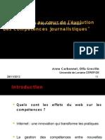 Présentation Anne Carbonnel & Olfa Greselle