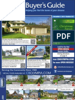 Coldwell Banker Olympia Real Estate Buyers Guide December 1st 2012