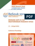 ReSouk 2012 Proceedings-FINAL