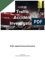 Traffic Accident InvestigationText