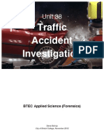 Traffic Accident InvestigationText