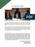 Nota Informativa N° 3 Iprodes  EPU Peru