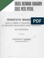 Symbolae ad Herculis Historiam Fabularem ex Vasculis Pictis Pititae by Josephus Boehm (1909)
