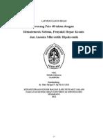 Hematemesis Melena, Penyakit Hepar Kronis, Anemia Mikrositik Hipokrom