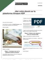Comment Publier Votre eBook Sur Amazon Kdp