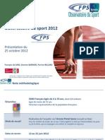 Observatoire Du Sport 2012