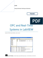 OPC and Real Time Systems in LabVIEW