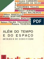 Antologia de autores brasileiros - alem do tempo e do espaço