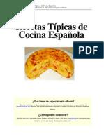 Cocina Espanola