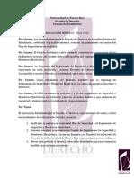 Resolución I sobre Reglamento Cámaras